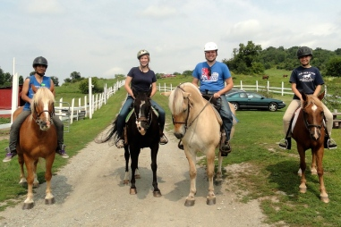 #15 Complete an Uncompleted Goal (#11 Ride Horses Together).