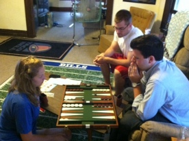 #12 (2012) Learn to play backgammon.