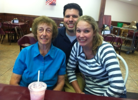#8 (2011) Take Grandma Grimaldi out to lunch