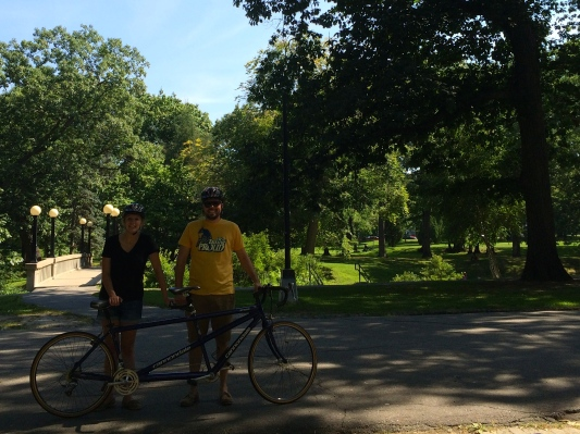 Unaccomplished Goal #2: Ride a 2-Person Bicycle