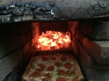 Unaccomplished Goal #15: Make a brick oven pizza.